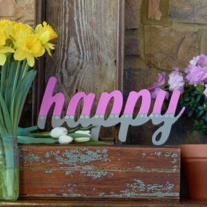 mosaic happy